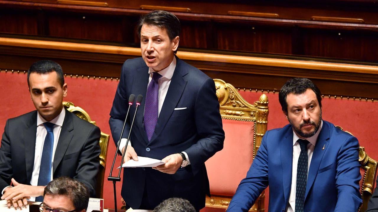 Conte Salvini Maio