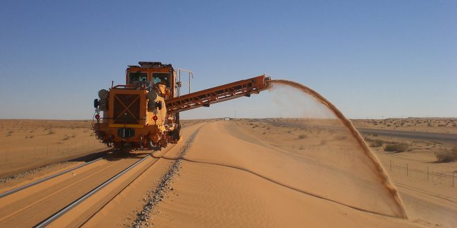 Gulf-Mediterranean railroad