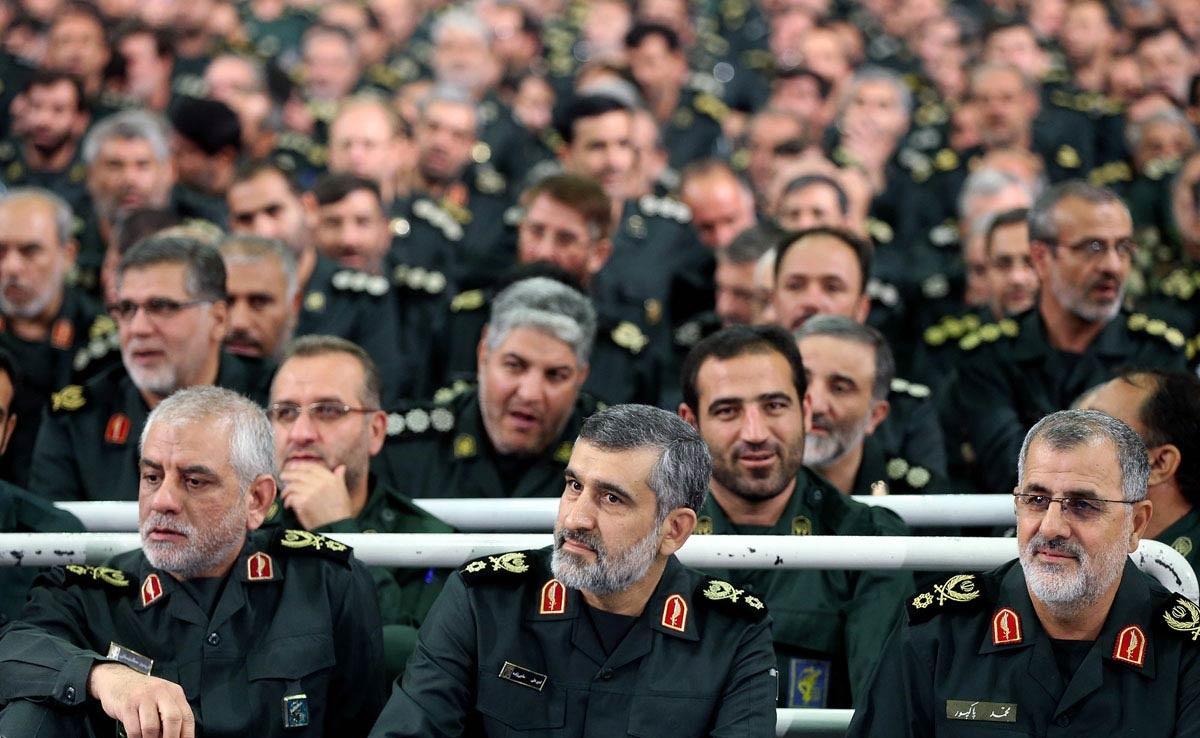 IRGC-commanders