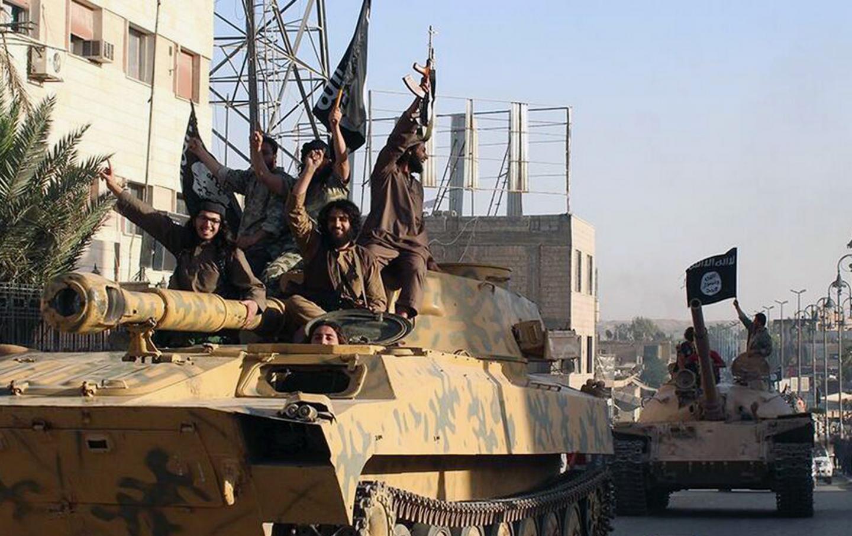 ISIS street parade