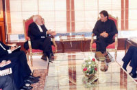 Imran Khan Mohammad Javad Zarif