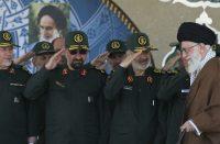 Iran's IRGC commanders and Ayatollah Ali Khamenei