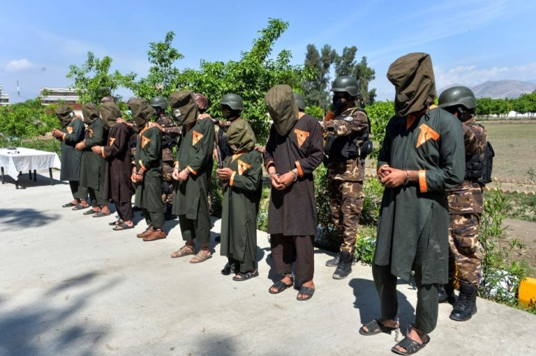 Islamic State fighters in Afghanistan