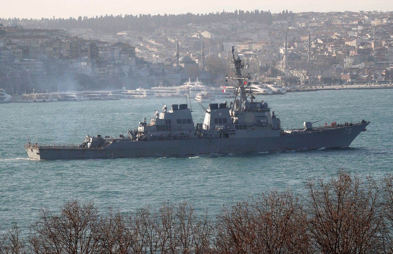 US Navy Arleigh Burke-class guided-missile destoyer