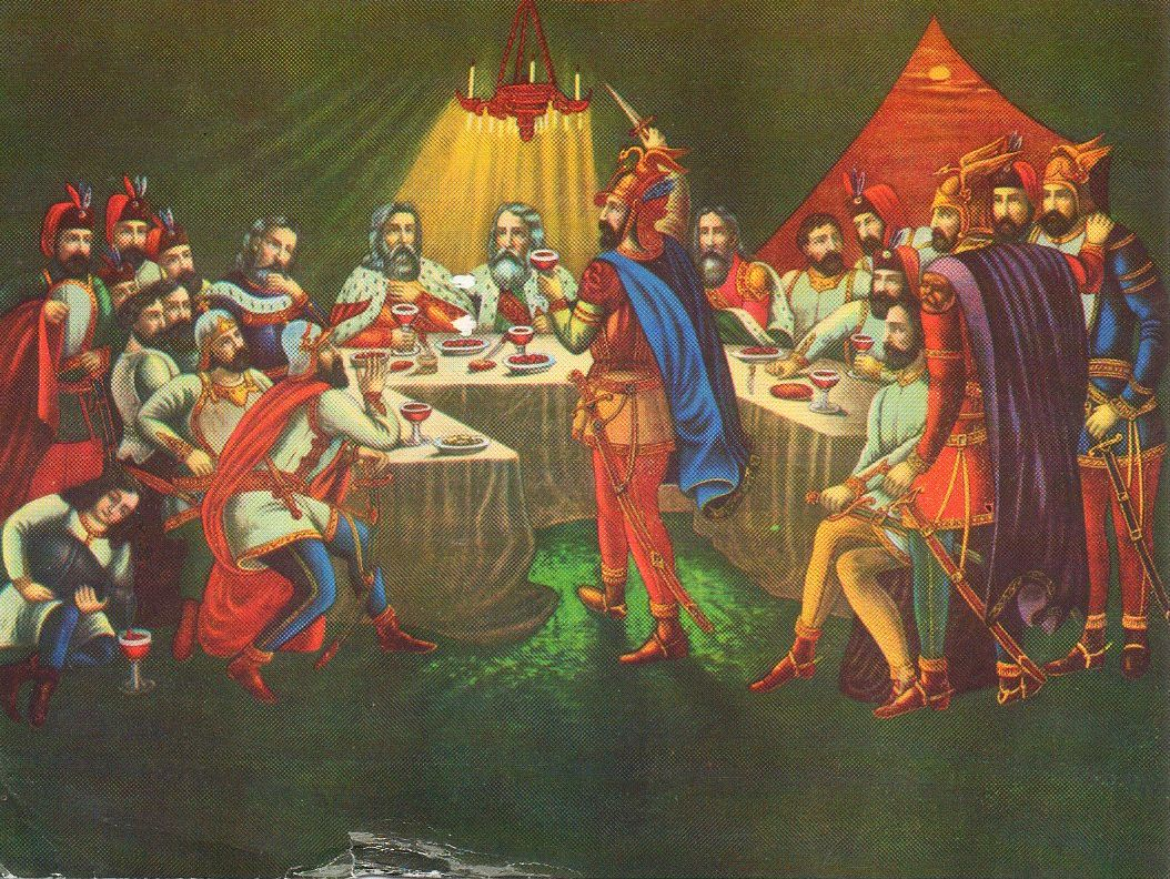 1389 Battle of Kosovo Last Supper