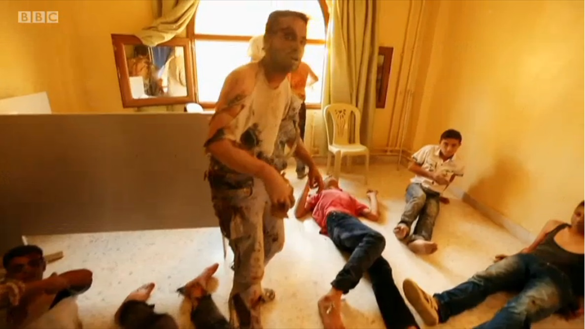 Fabrication in BBC Panorama 'Saving Syria's Children'