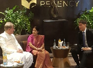 Foreign Ministers of India and Pakistan