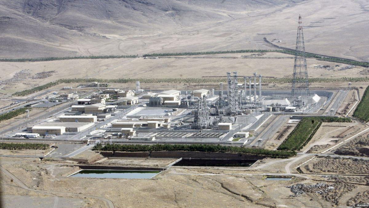 IR-40 heavy-water reactor site at Arak