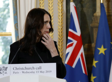 Jacinda Ardern Christchurch Call