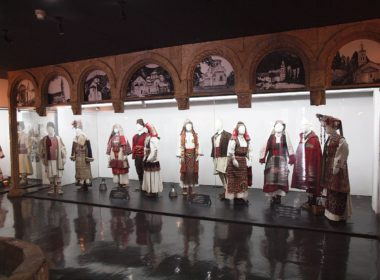 Albanian and Serbian traditional clothing from Kosovo