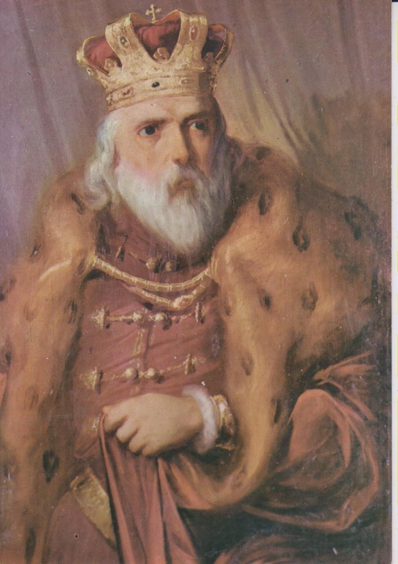 St. Prince Lazar painting by Djura Jaksic