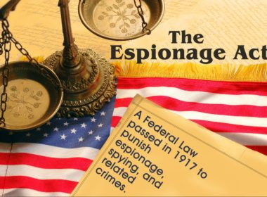 The Espionage Act