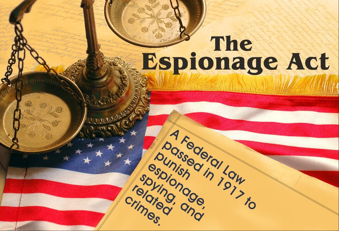 The Espionage Act