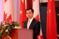 Ambassador of China to Canada Lu Shaye