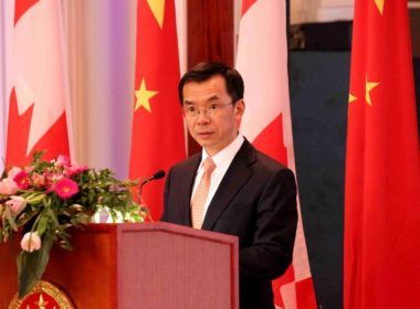 Ambassador of China to Canada Lu Shaye