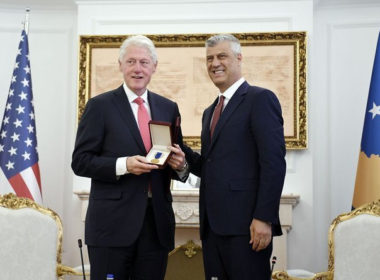 Clinton and Thaci