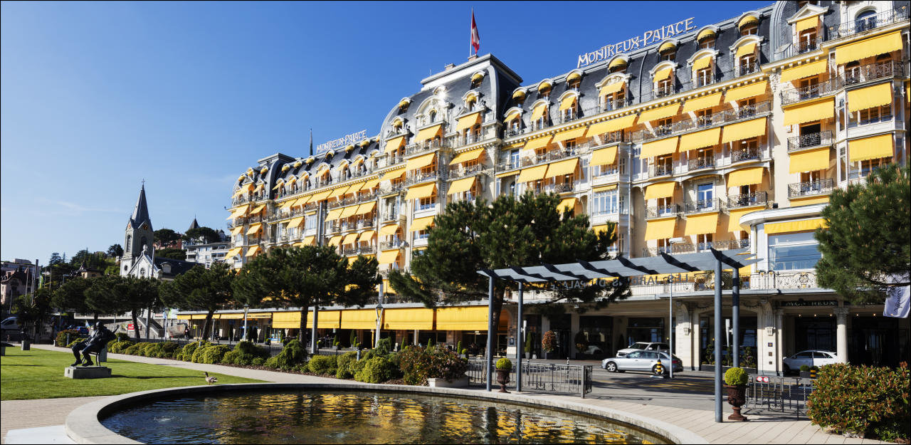 Le Montreux Palace hotel