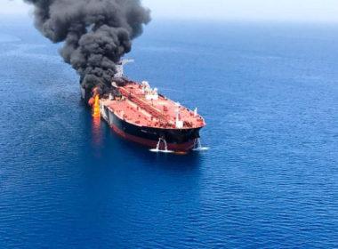 Oil tanker attacked