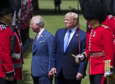 Trump In Britain
