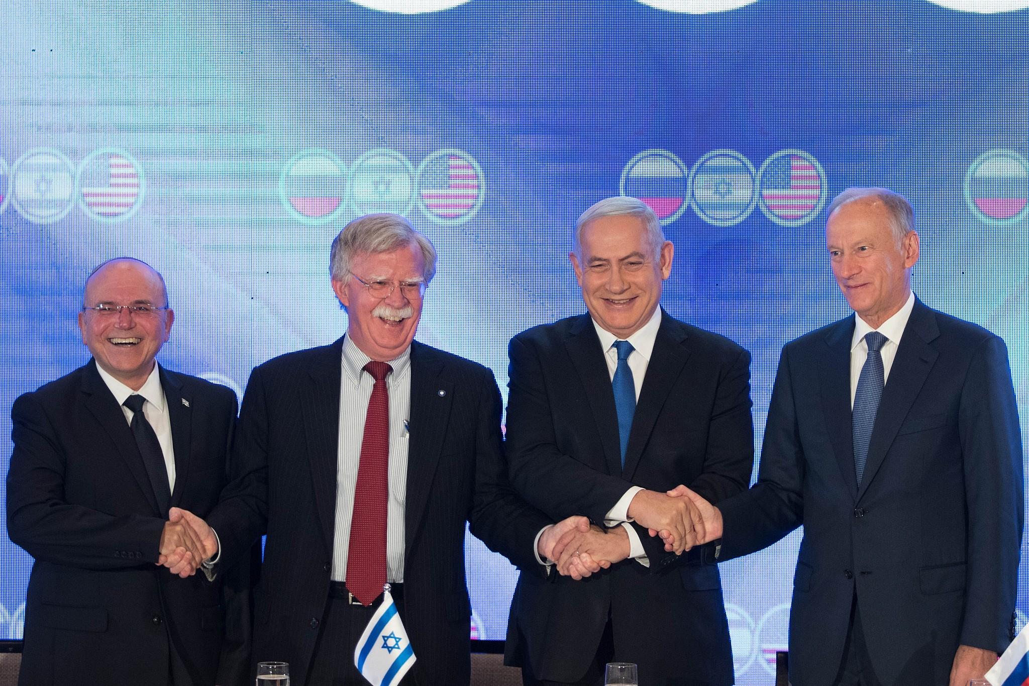 Ben-Shabbat, Bolton, Netanyahu