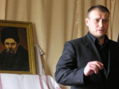 Yarosh in Ternopol