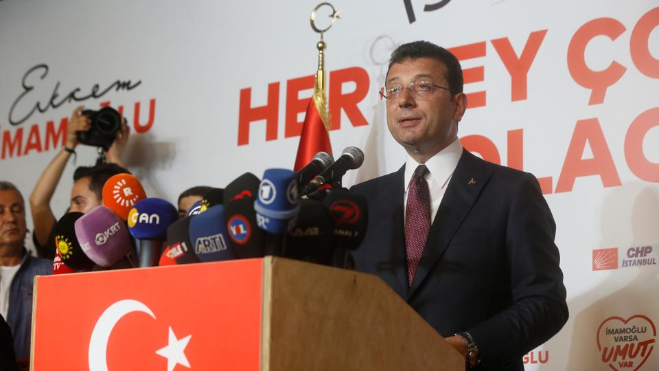 Mayor-elect Ekrem Imamoglu