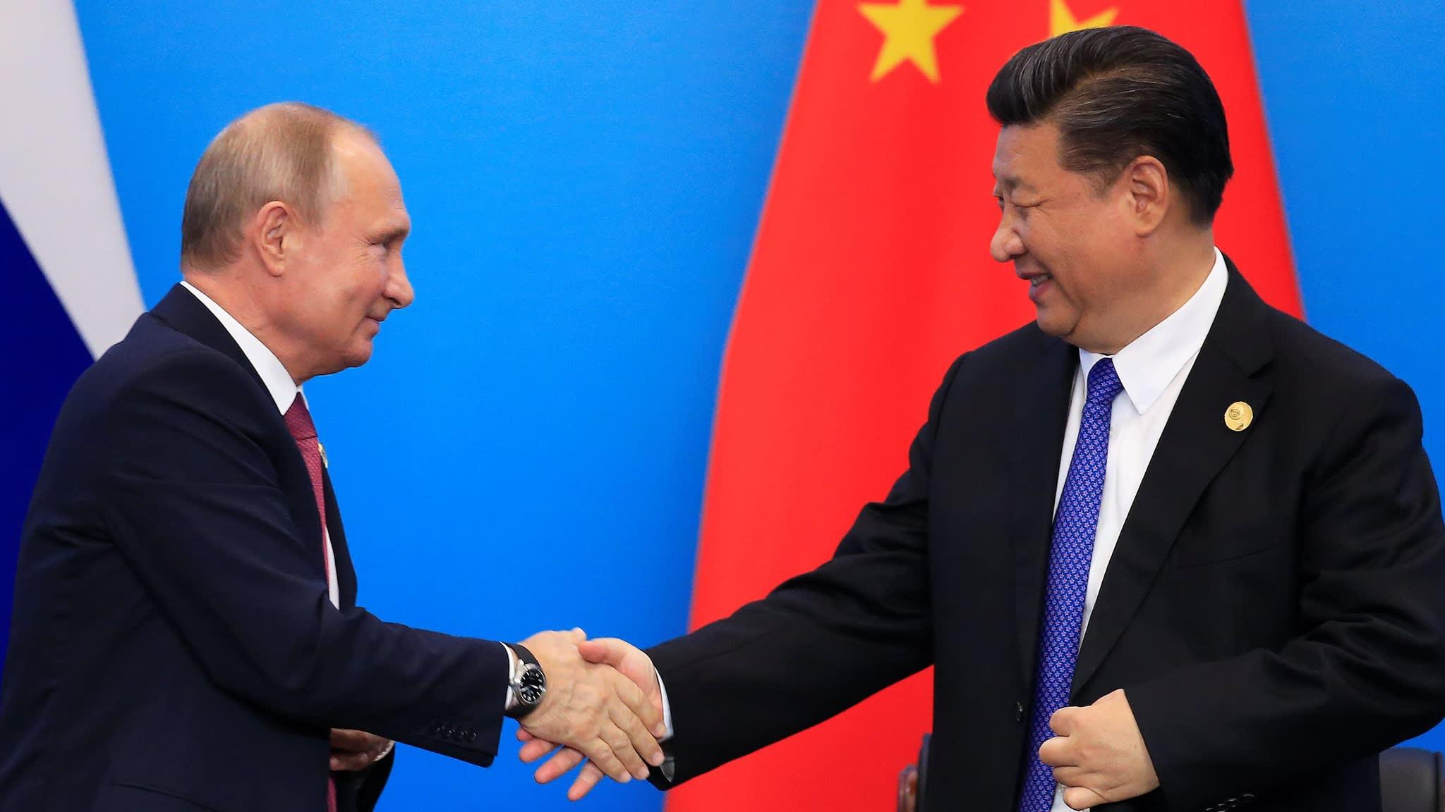 Xi Jinping and Putin