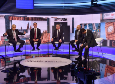 Conservative Leadership Hopefuls Debate At The BBC