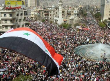 Arab spring in Damascus