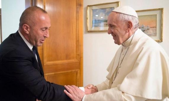 Haradinaj and Pope