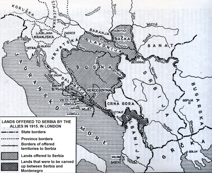 London 1915 and Serbia