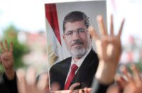 Funeral prayer of former Egyptian President Mohamed Morsi