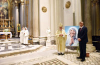 Pope and Thaci