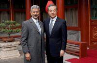 Wang Yi and S. Jaishankar