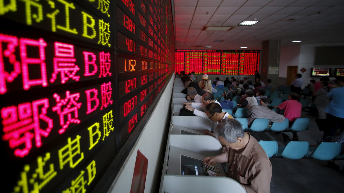 China's stock market