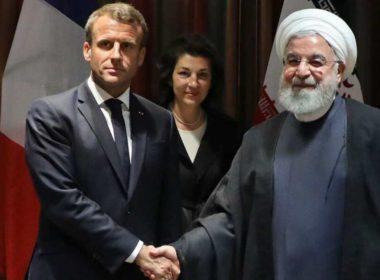 Macron met Rouhani