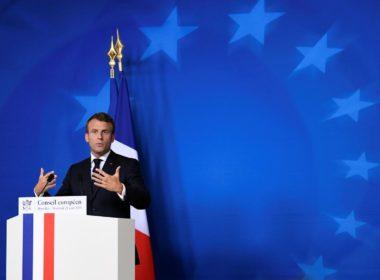 Macron on Iran