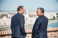 Tony Abbott Visits Hungary