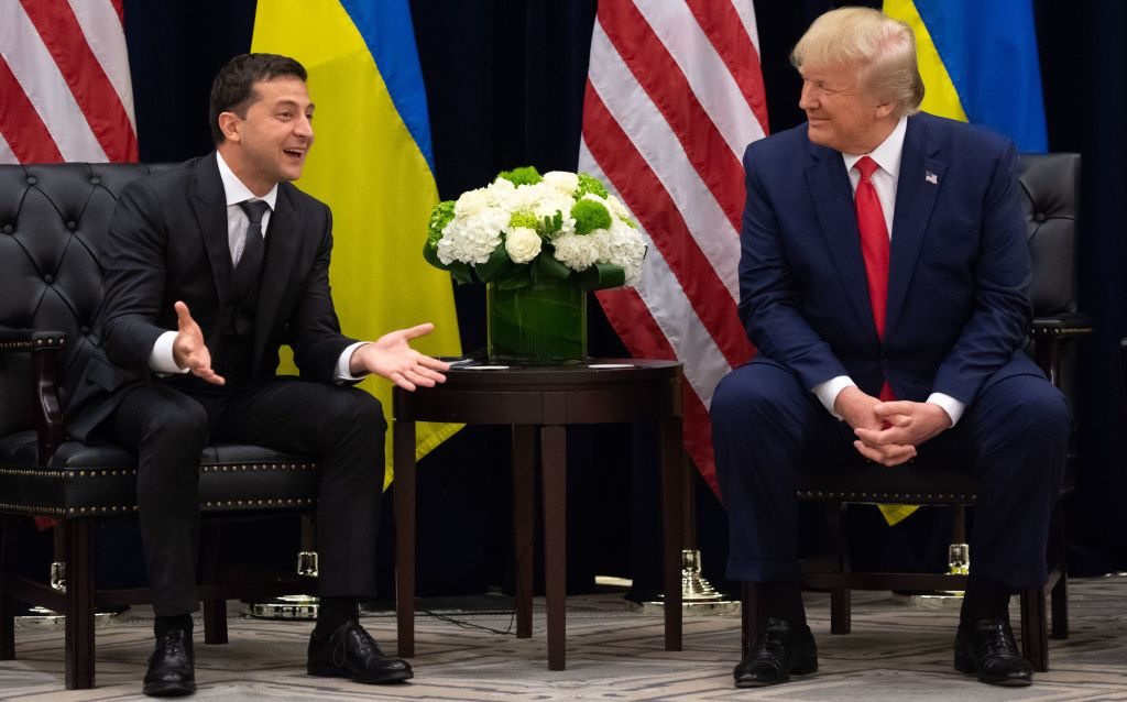 Trump and Zelensky