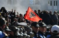 Albania-protest