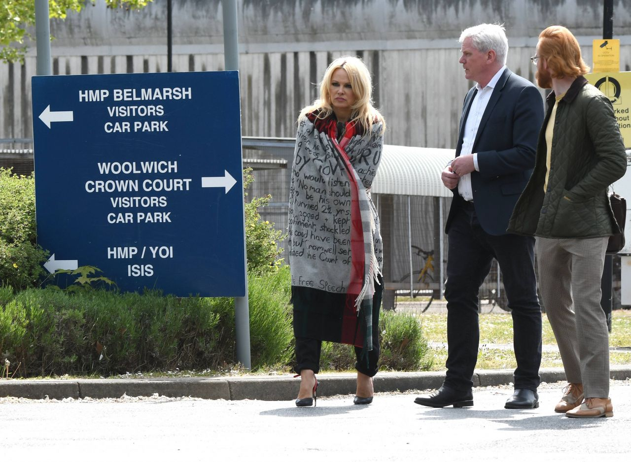 Assange And Remaining In Belmarsh