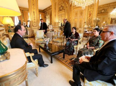 Hollande-meeting-PYD