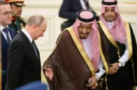 King Salman receives President Putin