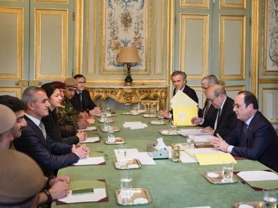 Kurdish delegation