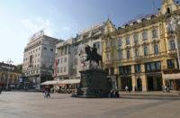 Ban Josip Jelacic Square in Zagreb
