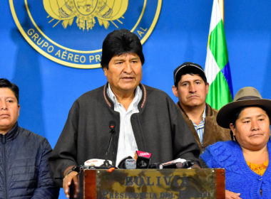 Evo Morales and the Coup