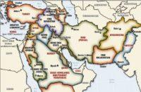 Free Kurdistan map