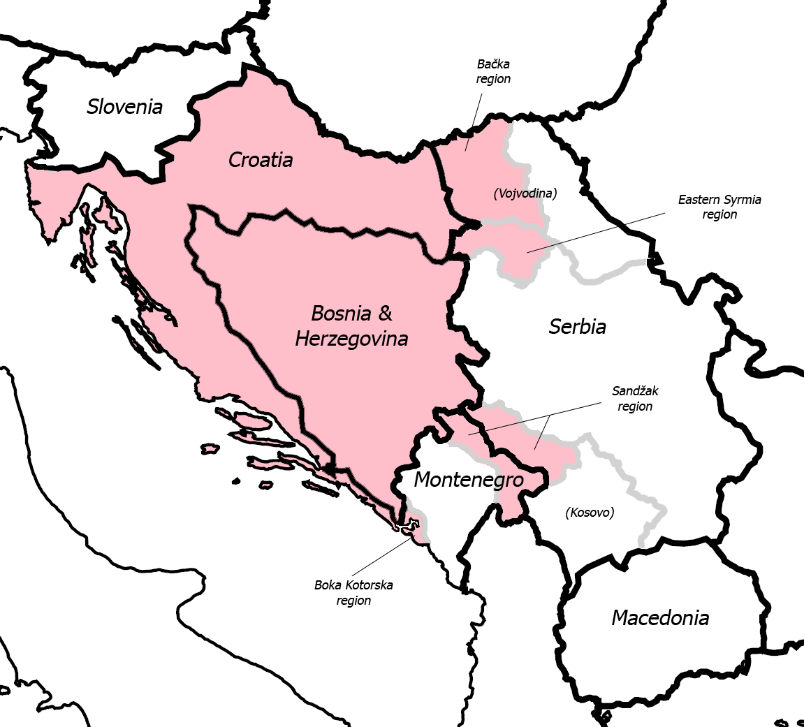 Greater Croatia of Croat Illyrians