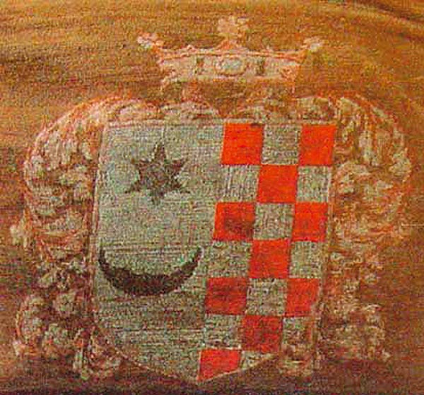 Illyrian coat of arms used by Croats during Illyrian Movement