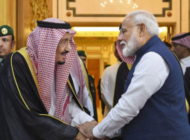 King Salman Al Saud received Narendra Modi